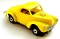 41 Willys® Gasser™ MoDEL MoToRING HO SLoTCaR - Yellow