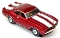 69 Chevy® Camaro® Z28® MoDEL MoToRING HO SLoTCaR - Candy Red WS