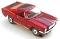 65 Ford® Mustang® 2+2 MoDEL MoToRING HO SLoTCaR - Candy Red BS