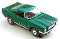 65 Ford® Mustang® 2+2 MoDEL MoToRING HO SLoTCaR - Candy Green BS