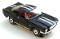 65 Ford® Mustang® 2+2 MoDEL MoToRING HO SLoTCaR - Black WS