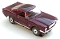 65 Ford® Mustang® 2+2 MoDEL MoToRING HO SLoTCaR - Burgundy BS