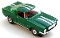 65 Ford® Mustang® 2+2 MoDEL MoToRING HO SLoTCaR - Green WS