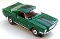 65 Ford® Mustang® 2+2 MoDEL MoToRING HO SLoTCaR - Green BS