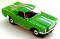65 Ford® Mustang® 2+2 MoDEL MoToRING HO SLoTCaR - Lime Green WS