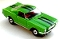 65 Ford® Mustang® 2+2 MoDEL MoToRING HO SLoTCaR - Lime Green BS