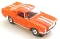 65 Ford® Mustang® 2+2 MoDEL MoToRING HO SLoTCaR - Orange WS