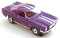 65 Ford® Mustang® 2+2 MoDEL MoToRING HO SLoTCaR - Purple WS