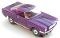 65 Ford® Mustang® 2+2 MoDEL MoToRING HO SLoTCaR - Purple BS