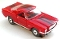 65 Ford® Mustang® 2+2 MoDEL MoToRING HO SLoTCaR - Red BS