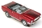 65 Mustang® Convertible MoDEL MoToRING HO SLoTCaR - Candy Red BS