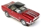 65 Mustang® Black Top MoDEL MoToRING HO SLoTCaR - Candy Red WS