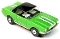 65 Mustang® Black Top MoDEL MoToRING HO SLoTCaR - Lime Green WS