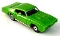 69 Pontiac GTO MoDEL MoToRING HO Slot Car - Lime