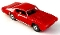 69 Pontiac GTO MoDEL MoToRING HO Slot Car - Red