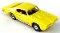69 Pontiac GTO MoDEL MoToRING HO Slot Car - Yellow