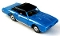 69 GTO Convertible MoDEL MoToRING HO Slot Car - Blue