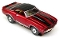 69 Chevy Camaro Convertible MoDEL MoToRING HO Slot Car - Candy Red WS