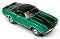 69 Chevy Camaro Convertible MoDEL MoToRING HO Slot Car - Candy Green BS