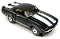 69 Chevy Camaro Convertible MoDEL MoToRING HO Slot Car - Black WS