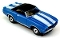 69 Chevy® Camaro® Convertible MoDEL MoToRING HO Slot Car - Blue WS