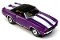 69 Chevy® Camaro® Convertible MoDEL MoToRING HO Slot Car - Purple WS
