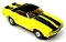 69 Chevy® Camaro® Convertible MoDEL MoToRING HO Slot Car - Yellow BS