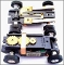 AURORA Hot Rod TJet 500 Slot Car Chassis