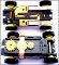 AURORA Dune Buggy Truck TJet 500 Slot Car Chassis