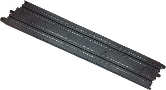 Micro Scalextric 15 inch Track Straight black