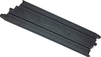 Micro Scalextric 9 inch Track Straight black
