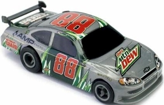 Dale Earnhardt Jr 88 diet Mtn Dew Chevy Impala Life-Like NASCAR HO Slot Car