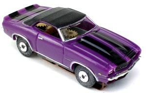69 Chevy® Camaro® Convertible MoDEL MoToRING HO Slot Car - Purple BS