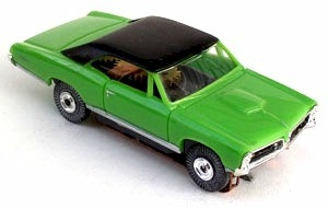 67 Pontiac® GTO® MoDEL MoToRING HO Slot Car - Lime BT