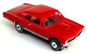 67 Pontiac® GTO® MoDEL MoToRING HO Slot Car - Red