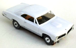 67 Pontiac® GTO® MoDEL MoToRING HO Slot Car - White