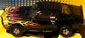 Chevy Camaro Black JL TJet 500 Tuff Ones HO Slot Car