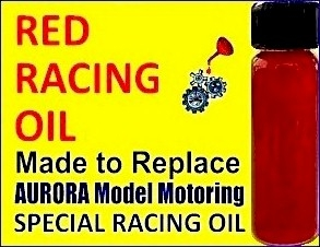 Red Racing Oil - Replacement for AURORA Special Racing Oil 14-25
